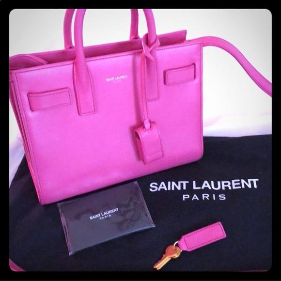 50a0c0b383 Authentic Saint Laurent Sac de Jour Nano. M 5af48bfe3afbbd1df607d76d